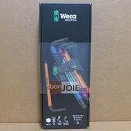::bonJOIE:: 德國 Wera 950/9 Hex-Plus Multicolour 1 彩色版六角扳手(球頭) 9件組 捷克製 (全新盒裝) Hex Key Set 950 SPKL L-key