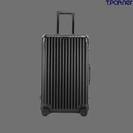 Tpartner กระเป๋าเดินทาง ขนาด 32 นิ้ว กระเป๋าเดินทางล้อลาก  รุ่นSport Aluminium วัสดุอลูมิเนียมแท้ทั้งใบ ดีไซน์ทรงถัง  รับประกัน 1 ปี