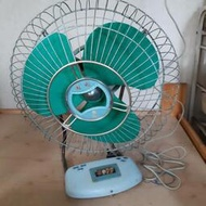 順風牌古董風扇保存完整可正常使用收藏極品