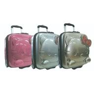 Hello Kitty 凱蒂貓 立體甜心系列16吋 行李箱 三色分售 KT00N16