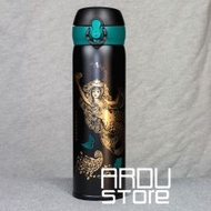 450ML Classical Starbucks Mermaid Stainless Steel Mug Starbucks Goddess Sucker Cup Starbucks Coffee Cup Thermal Insulation Starbucks Vacuum Thermos - intl