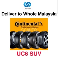[Deliver to Whole Malaysia] Continental Conti Ultra Contact UC6 SUV Car Tyre 215/65R16, 225/65R17, 215/60R17, 225/60R17, 225/60R18, 235/60R18, 235/55R19, 225/55R19
