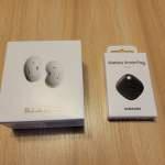 Samsung Galaxy Buds live 白色 連 SmartTag