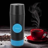 【ราคา + ReadyสหรัฐอเมริกาStock】MINI USBแบบชาร์จซ้ำได้Hand-held Carเครื่องชงกาแฟแคปซูลบรรจุผงเครื่องทำกาแฟขนาดเล็กเครื่องชงกาแฟCAMPING