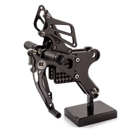 CNC Aluminum Motorcycle Foot Pegs Rest Footpegs Pedals Rearset Footrest For Honda CBF150 CBF 150