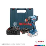 【BOSCH 博世】18V鋰電衝擊起子/扳手機GDX180-LI 套裝組2.0Ah