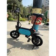 (賓士哥)浪騎士nakxus12吋  48v/400w/15ah超大大電池雙碟剎電動腳踏車電單車電助力車電車松下電芯