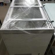 台灣製二手透明蓋冷凍櫃
