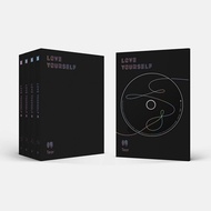 BTS BANGTAN BOYS LOVE YOURSELF 轉 Tear ALL Ver. 4 CD + PHOTOCARD + 4 POSTER