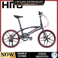 【In Stock】LM Hito X6 20/22 inch Foldable Bicycle Outdoor Sports Bike Aviation Technology (high Quality Aluminum)-made In Germany, Installation-Free