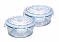 【限時促銷】NEOFLAM 耐熱玻璃保鮮盒2入組620ML+950ML SP-2019