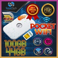 4G Pocket Wifi 100Mbps Portable Hotspot Broadband Modem With 44GB/100GB Hi-Speed Connectivity Data