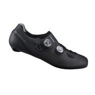 【SHIMANO 自行車鞋】RC901 男性公路車競賽級車鞋 ★ 寬楦 黑色