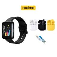 Realme Watch 智慧型手錶 + Realme Buds Air + 三合一充電線 豪華組