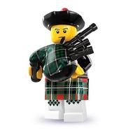 [BrickHouse] LEGO 樂高 8831 人偶包7代 6 6號 蘇格蘭風笛手 夾鏈袋包裝無原外袋