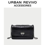 Urban Revivo2019 ฤดูใบไม้ร่วง/ฤดูหนาวผู้หญิงอุปกรณ์เสริมสายหนังกระเป๋าสะพายข้าง Ae06rb4n2001