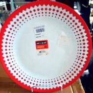 Arcopal plates (elegant dinner plate)