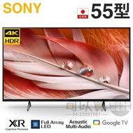 SONY 索尼 ( XRM-55X90J ) 55型【X90J系列】4K 智慧顯示器《送基安回收,限台中市》★12期零利率★