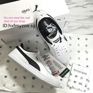 【Ready Stock】Puma X Bts Court Star Sneakers Free Bts Photocard Small White Shoes