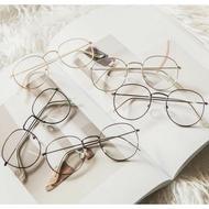 鏡框【SG396】【送眼鏡袋+眼鏡布】 韓國復古文藝小百搭超輕潮流可愛DIGITAL INTERNATIONALELEC