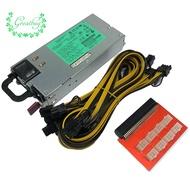 【GB】1200W Miner Power Supply DPS-1200FB PSU Ethereum APW3 BTC Asic