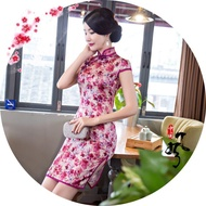 Cheongsam Dress Women Qipao Dress Sexy Traditional Dress Vestido Oriental Dress