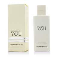 亞曼尼 因為有你身體乳液Emporio Armani Because It's You Sensual Perfumed Body Lotion  200ml/6.7oz