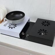 電磁爐支架底座廚房置物架微波爐電鍋支架煤氣灶蓋板電鍋支架收納
