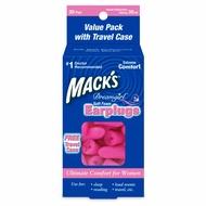 【 30副入附便攜盒 】Mack's 美國原裝進口~ Dreamgirl 女性專用耳塞【B0025】