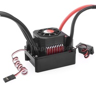 【H&D】SURPASS HOBBY 120A Brushless ESC Waterproof Electric Speed Controller for 1/8 1/10 RC Truck Off-road Car