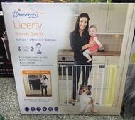 [好樂市 東湖店]DREAMBABY 兒童/寵物雙向安全門(適用75-93cm寬的門)雙向單手門把