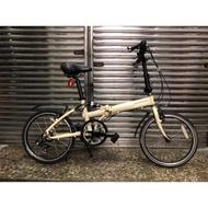 【 專業二手腳踏車買賣 】OYAMA A168 20吋 SHIMANO 6段變速 多連桿避震二手折疊腳踏車 中古折疊車