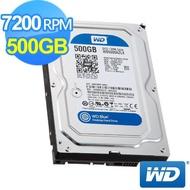 【WD 威騰】藍標 500G 桌上型3.5吋 SATA硬碟(WD5000AZLX)