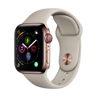 Apple Watch Series 4 GPSCellular 44mm, Gold Stainless Steel Case, Stone Sport Band
