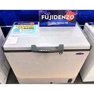 Brand New Fujidenzo 9 cu. ft. Dual Function Solid Top Chest Freezer with Glass Cover Inside FCG-90PD
