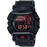 CASIO卡西歐 G-SHOCK 經典防撞手錶-酷黑 GD-400-1DR