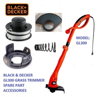 GRASS TRIMMER SPARE PART GL300 BLACK AND DECKER , ACCESSORIES,REFILL NYLON