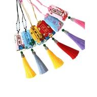 【哆啦A夢】春天手工刺繡diy平安符自繡送男友福袋荷包平安福護身御守材料包