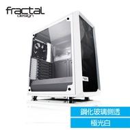Meshify C - TG 極光白 鋼化玻璃透側電腦機殼 Fractal Design