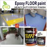 ( 5L or 1L ) APPLE BRAND EPOXY PAINT (CATALOG 2/4 )  EPOXY PAINT / CAT EPOXY LANTAI / FLOOR CERAMIC TILES COATING