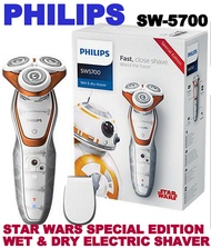 PHILIPS STAR WARS SPECIAL EDITION WET  DRY ELECTRIC SHAVER SW5700