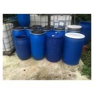 二手 20L 25 120L 150  200L 1000公升 50加侖 1噸桶 塑膠桶 化學桶 密封桶 運輸桶 廚餘桶