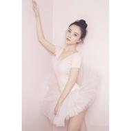 芭蕾舞裙成人練功服紗裙兒童蓬蓬裙李小璐同款芭蕾寫真服演出服