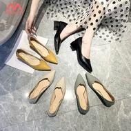 Mbeauty รองเท้าใส่ทำงาน รองเท้าผู้หญิงทำงาน รองเท้าหัวแหลม รองเท้าส้นเข็ม รองเท้าคัชชูส้นสูง