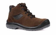 KPR Safety Shoe boots Brown L-221 (mid cut lace up)