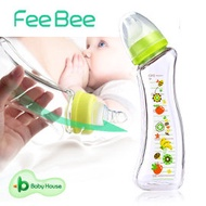 [ Baby House ] FeeBee 彎角玻璃奶瓶 240ml - 新鮮果漾 彎角 類Betta 防脹氣 《買2、6枝 贈好禮》 【愛兒房生活館】