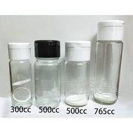 【橖果屋餐具】500cc 梅酒瓶 廣口瓶 蜂蜜瓶 玻璃瓶 空瓶 酒瓶 醋瓶 梅酒罐 醃漬瓶 水瓶