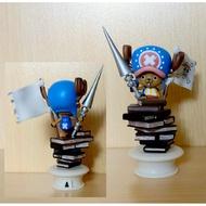 稀有絕版景品 海賊王 日版金證 西洋棋第一代~ 兩年後~士卒: 喬巴 ~(白底座) 約9公分