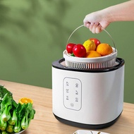 10L Portable Ultrasonic Cleaner Machine Fruits Vegetables Cleaning Machine Washer Sterilizer Oxygen Concentrator Food Detoxification Washing Machine Dishes Bowls Cleaner Air Cleaner oxygen activating function