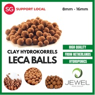 LECA CLAY BALLS HYDROKORRELS FOR HYDROPONICS and AQUAPONICS